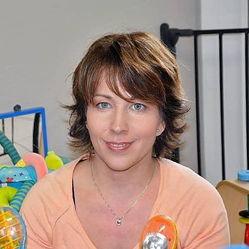 Une éducatrice de la crèche les p'tits malins de Strassen